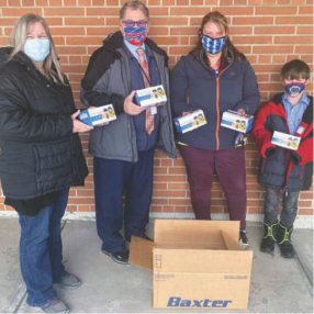 Cottage Hospital Donates 1000 Youth Masks to Local Elementary School featured image